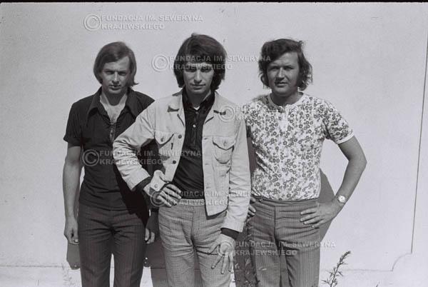 # 767 - 1970r. Warszawa, Czerwone Gitary w składzie: Seweryn Krajewski, Bernard Dornowski, Jerzy Skrzypczyk