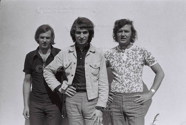 # 769 - 1970r. Warszawa, Czerwone Gitary w składzie: Seweryn Krajewski, Bernard Dornowski, Jerzy Skrzypczyk