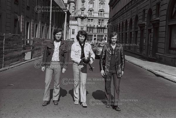 # 777 - 1970r. Warszawa, Czerwone Gitary w składzie: Seweryn Krajewski, Bernard Dornowski, Jerzy Skrzypczyk