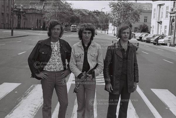 # 778 - 1970r. Warszawa, Czerwone Gitary w składzie: Seweryn Krajewski, Bernard Dornowski, Jerzy Skrzypczyk
