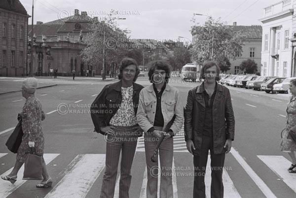 # 783 - 1970r. Warszawa, Czerwone Gitary w składzie: Seweryn Krajewski, Bernard Dornowski, Jerzy Skrzypczyk
