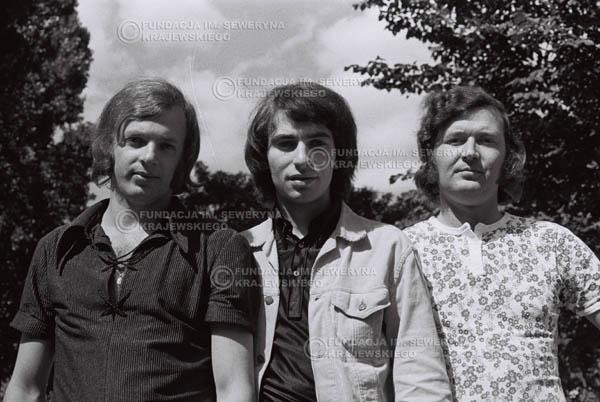 # 793 - 1970r. Warszawa, Czerwone Gitary w składzie: Seweryn Krajewski, Bernard Dornowski, Jerzy Skrzypczyk