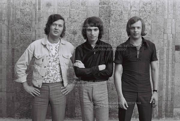 # 796 - 1970r. Warszawa, Czerwone Gitary w składzie: Seweryn Krajewski, Bernard Dornowski, Jerzy Skrzypczyk