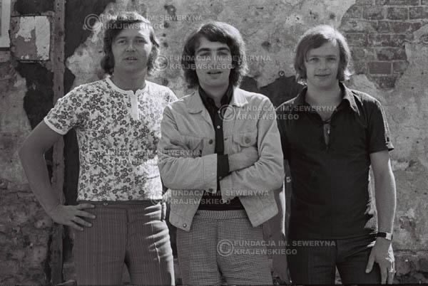 # 819 - 1970r. Warszawa, Czerwone Gitary w składzie: Seweryn Krajewski, Bernard Dornowski, Jerzy Skrzypczyk