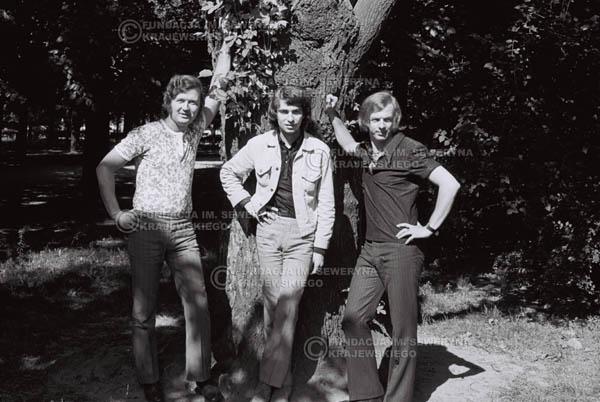 # 821 - 1970r. Warszawa, Czerwone Gitary w składzie: Seweryn Krajewski, Bernard Dornowski, Jerzy Skrzypczyk