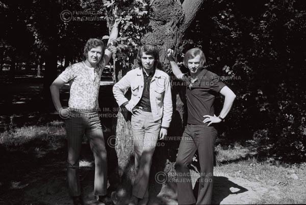 # 823 - 1970r. Warszawa, Czerwone Gitary w składzie: Seweryn Krajewski, Bernard Dornowski, Jerzy Skrzypczyk
