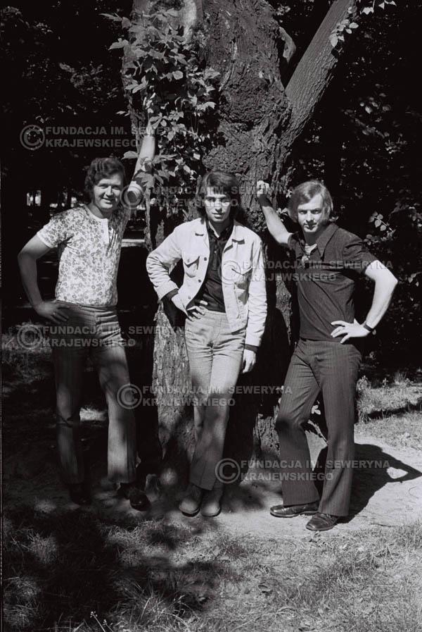 # 824 - 1970r. Warszawa, Czerwone Gitary w składzie: Seweryn Krajewski, Bernard Dornowski, Jerzy Skrzypczyk