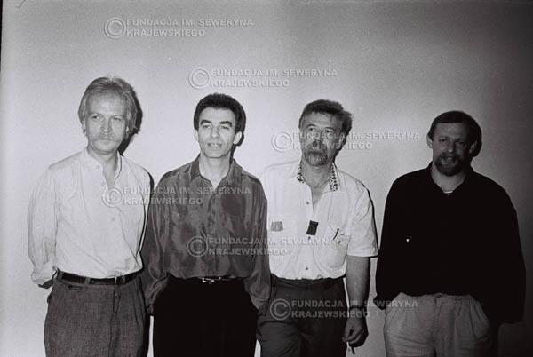 # 829 - come back Czerwonych Gitar w składzie: Jerzy Kosela, Seweryn Krajewski, Bernard Dornowski, Jerzy Skrzypczyk, 1994r.