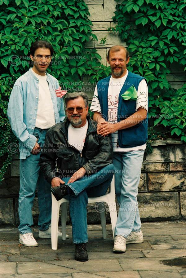 # 892 - 1991r. sesja zdjęciowa w Michalinie, Czerwone Gitary w składzie (come back):Seweryn Krajewski, Bernard Dornowski, Jerzy Skrzypczyk