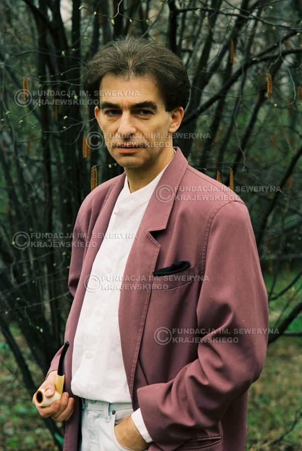 # 925 - Seweryn Krajewski 1991r. sesja zdjęciowa w Michalinie.