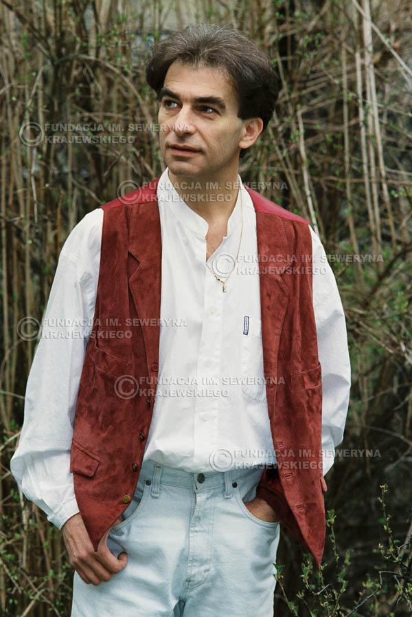 # 955 - 1991r. sesja zdjęciowa w Michalinie, Seweryn Krajewski