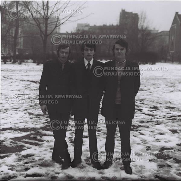 # 973 - 1970r. Czerwone Gitary w składzie: Seweryn Krajewski, Jerzy Skrzypczyk, Bernard Dornowski