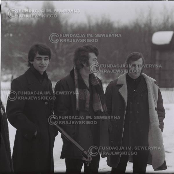 # 982 - zima 1970, Czerwone Gitary w składzie: Seweryn Krajewski, Bernard Dornowski, Jerzy Skrzypczyk