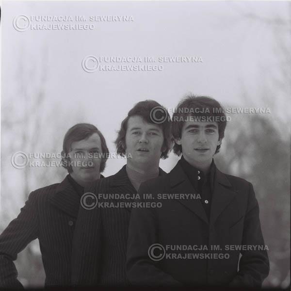 # 990 - zima 1970r. Czerwone Gitary w składzie: Seweryn Krajewski, Bernard Dornowski, Jerzy Skrzypczyk