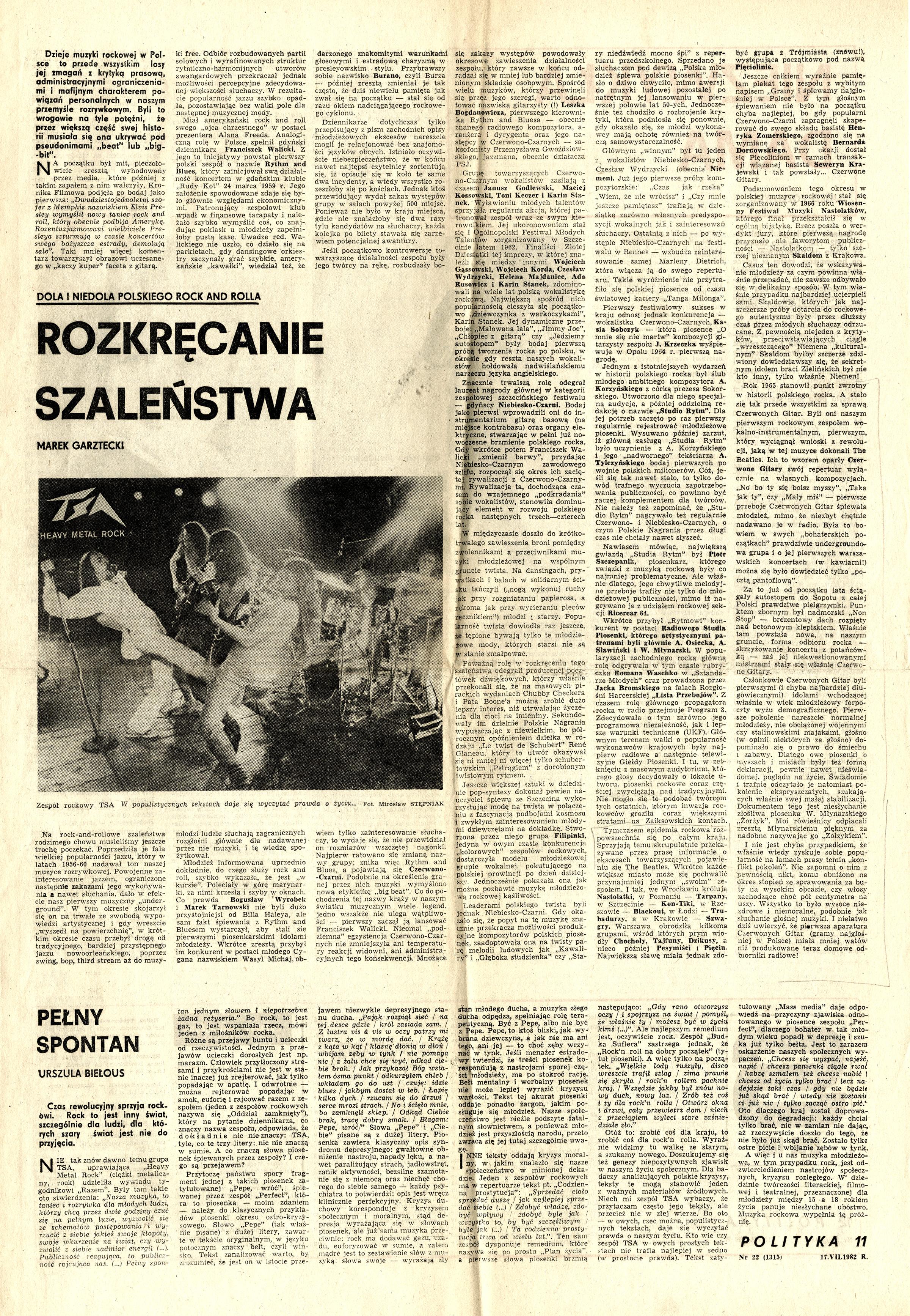 1979-1990_Polityka_1982_Artykul_o_istori_muzyki_rokowej_w_polsce_w_tym_CzG-recanie_Szalenswa_01a-