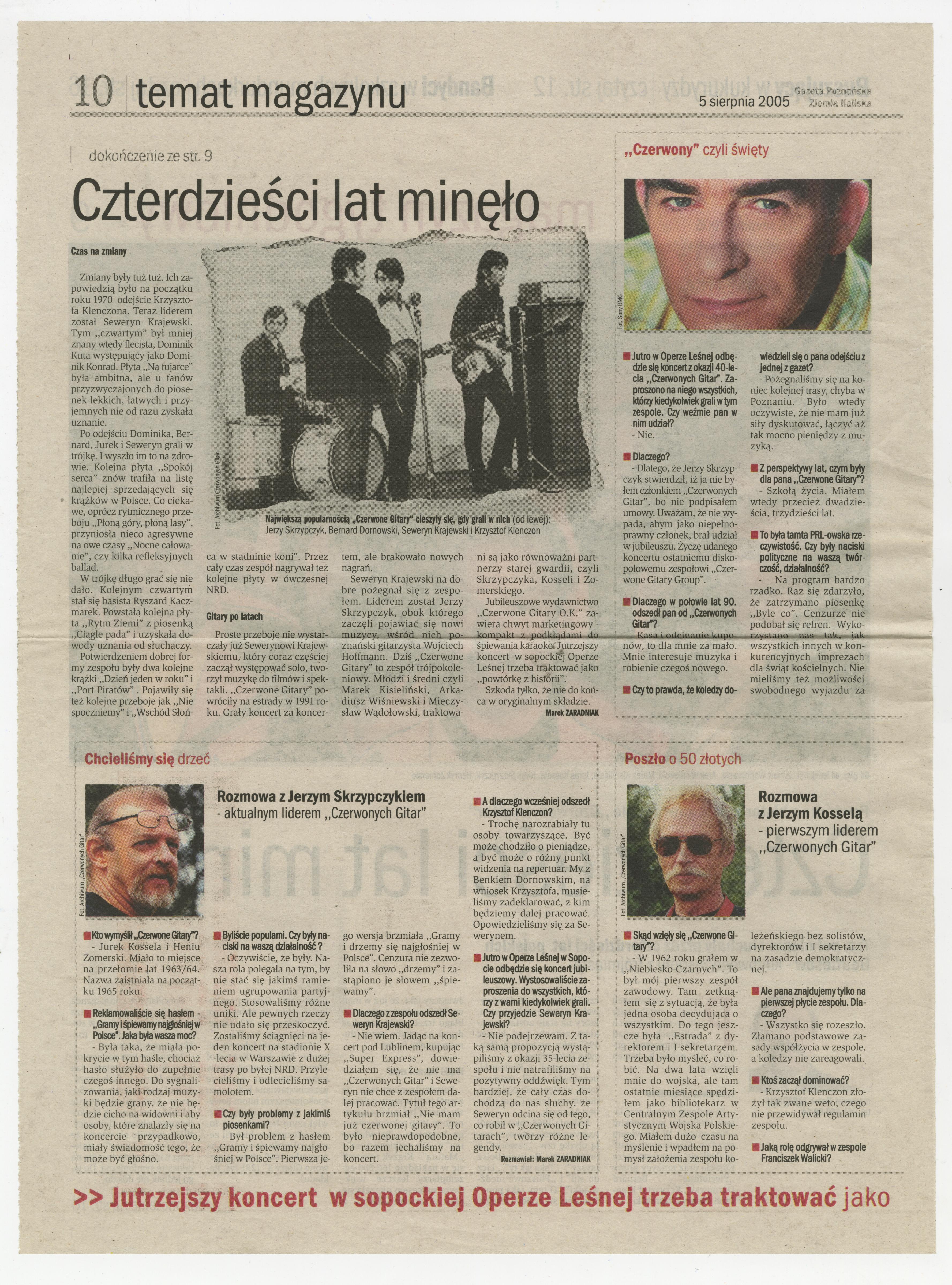 2004-2012-Gazeta_Poznanska_2005_40lat_Czg_Minelo