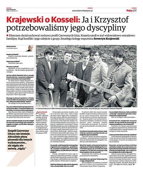 Seweryn Krajewski o Kosseli