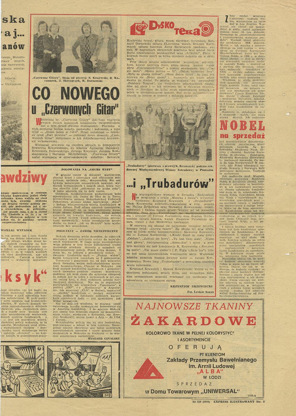 1969-1978_Dyskoteka_1976_co_nowego_u_CzG
