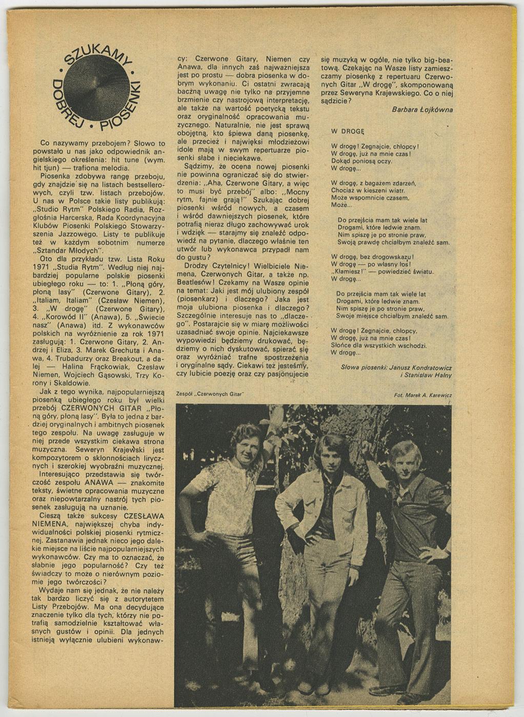1969-1978_Plomyk_1972_CzG_Szukamy_Dobrej_Piosenki