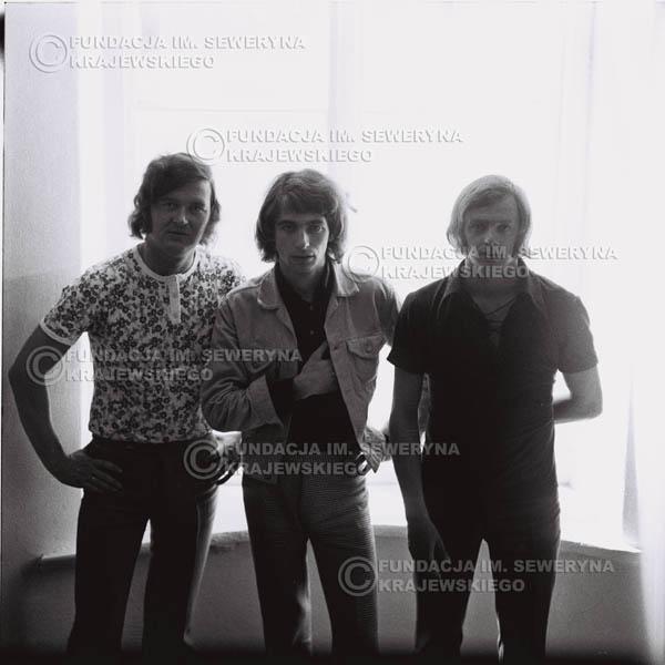# 1002 - Czerwone Gitary 1970r. w składzie: Seweryn Krajewski, Bernaed Dornowski, Jerzy Skrzypczyk.