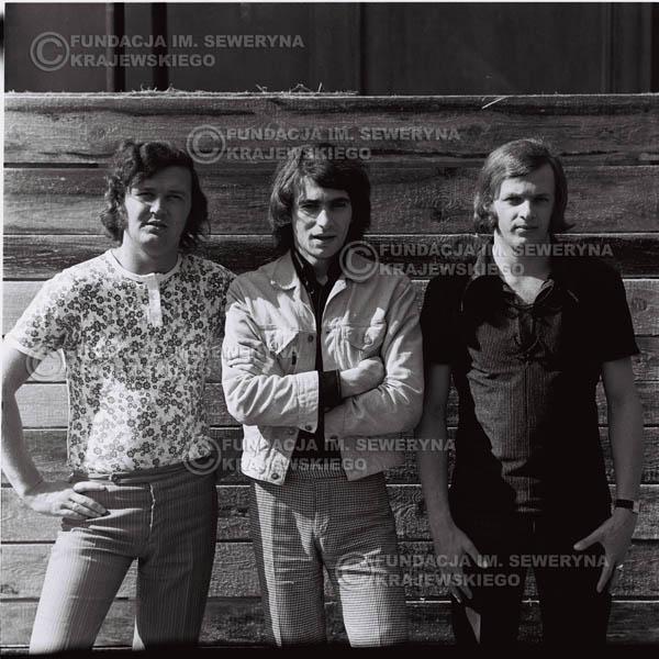 # 1012 - Czerwone Gitary 1970r. w składzie: Seweryn Krajewski, Bernaed Dornowski, Jerzy Skrzypczyk.