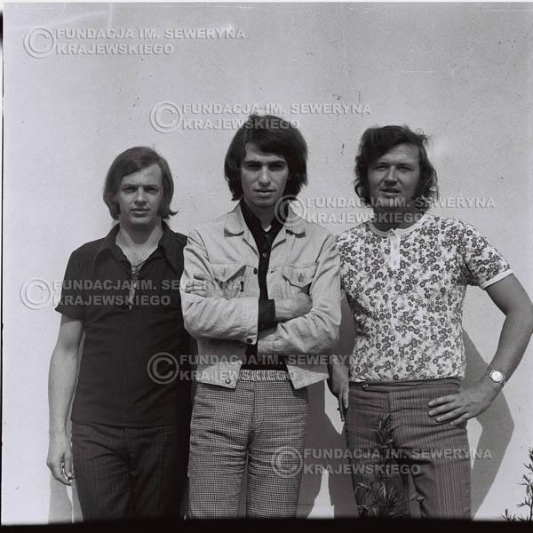 # 1019 - Czerwone Gitary 1970r. w składzie: Seweryn Krajewski, Bernaed Dornowski, Jerzy Skrzypczyk.