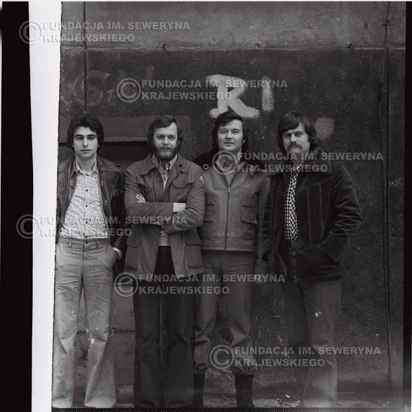 # 1072 - 1975r. od lewej: Seweryn Krajewski, Jerzy Skrzypczyk, Bernard Dornowski, Ryszard Kaczmarek