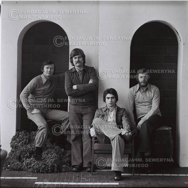 # 1079 - 1975r. od lewej: Bernard Dornowski, Ryszard Kaczmarek, Seweryn Krajewski, Jerzy Skrzypczyk
