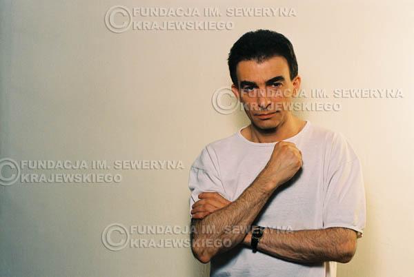 # 10 - Leszek Fidusiewicz. Sesja do okładki 'Strofki na gitarę (2)' - 1993 r.