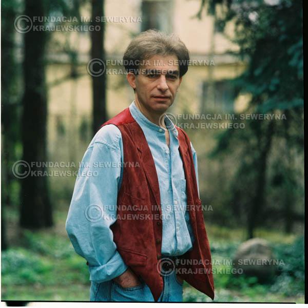 # 1193 - 1991r. sesja zdjęciowa w Michalinie, Seweryn Krajewski
