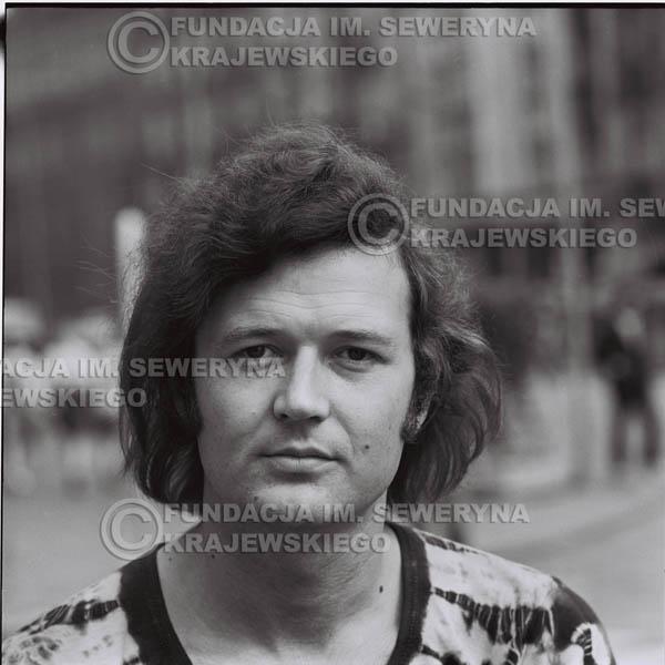 # 1280 - Bernard Dornowski, 1973r na starówce w Poznaniu.