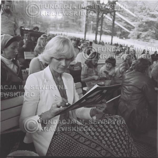 # 1350 - Helena Vondrachkova – 1977r. Pierwszy Międzynarodowy Festiwal INTERWIZJI w Sopocie.