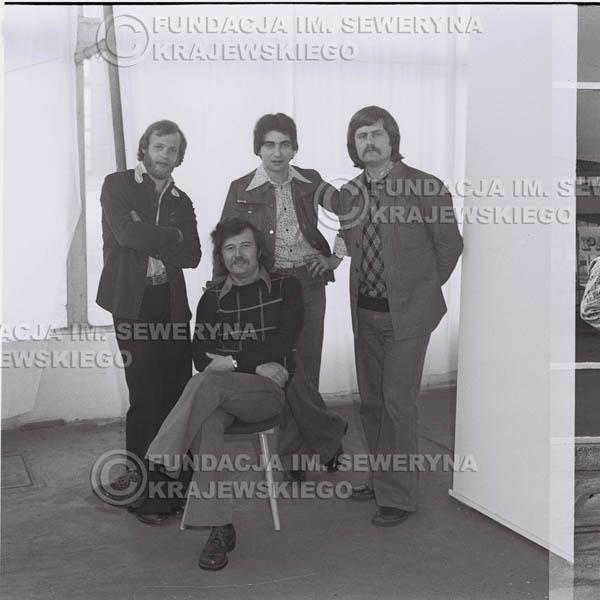 # 1357 - Czerwone Gitary w składzie: Jerzy Skrzypczyk, Seweryn Krajewski, Ryszard Kaczmarek, Bernard Dornowski.