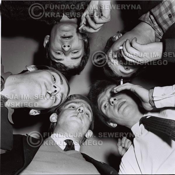 # 147 - Od lewej: Henryk Zomerski, Jerzy Skrzypczyk, Jerzy Kosela, Bernard Dornowski, Krzysztof Klenczon