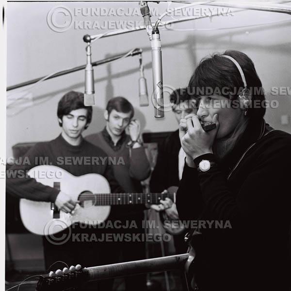 # 148 - Czerwone Gitary 1967r., nagranie do trzeciej płyty, gdańskie radio Wrzeszcz