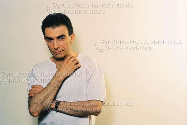 # 14 - Leszek Fidusiewicz. Sesja do okładki 'Strofki na gitarę (2)' - 1993 r.