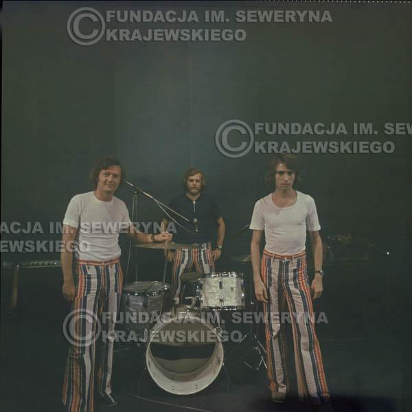 # 1514 - 1973r Koncert w Poznaniu Czerwone Gitary w składzie: Bernard Dornowski, Jerzy Skrzypczyk, Seweryn Krajewski.