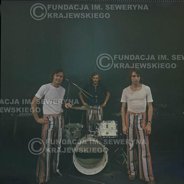# 1515 - 1973r Koncert w Poznaniu Czerwone Gitary w składzie: Bernard Dornowski, Jerzy Skrzypczyk, Seweryn Krajewski.