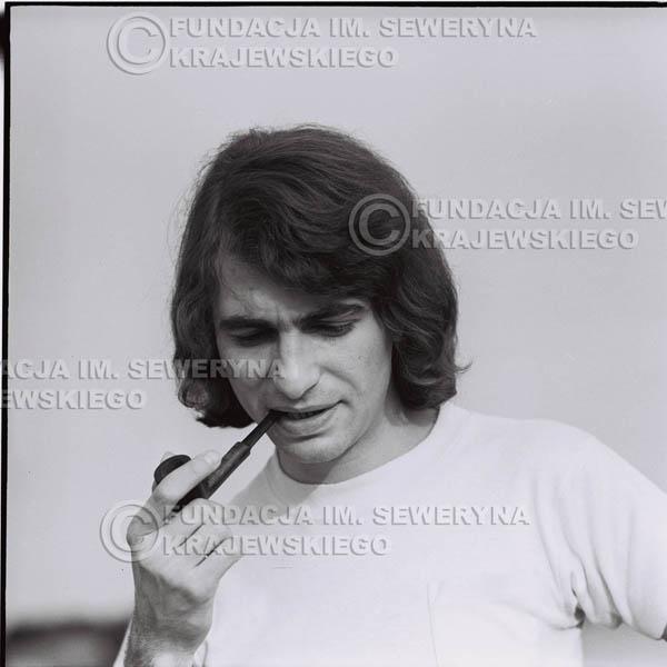 # 1613 - 1974r. Seweryn Krajewski z fajką.
