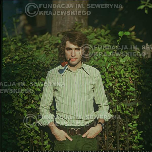 # 1627 - Seweryn Krajewski - 1974r. sesja zdjęciowa w Sanoku.