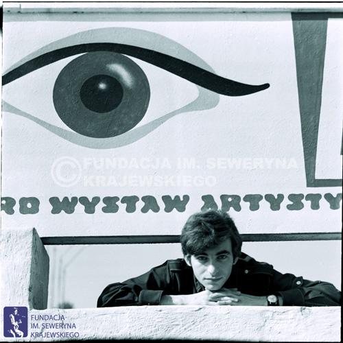 # 1669 - Seweryn Krajewski, Sopot 1968 r., Zdjęcie promocyjne, fot. Stefan Kraszewski