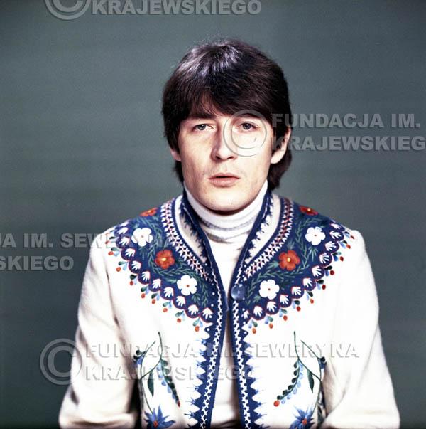 # 167 - Krzysztof Klenczon, sesja do płyty pt: 'Czerwone Gitary 3'