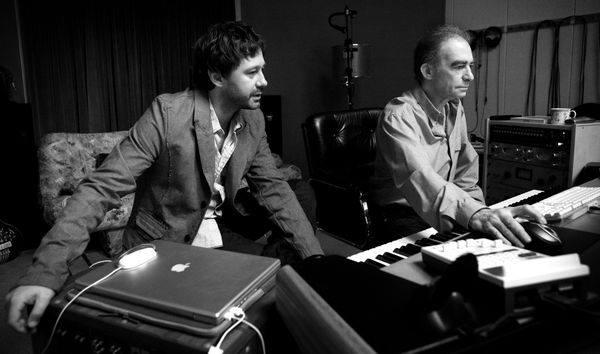 # 1787 - Seweryn Krajewski i Andrzej Piaseczny - 2009 r. - Studio u Seweryna - Przy pracy