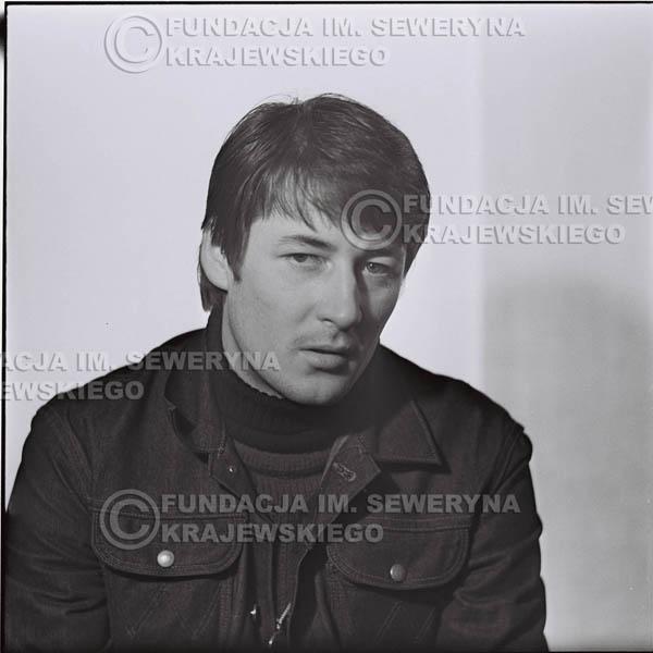 # 186 - 1967r. Krzysztof Klenczon sesja zdjęciowa do płyty pt: 'Czerwone Gitary 3'