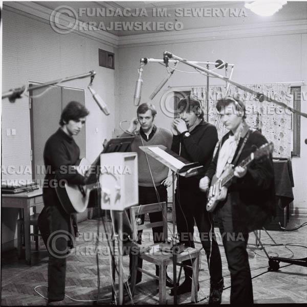 # 254 - Czerwone Gitary 1967r., nagranie do trzeciej płyty, gdańskie radio Wrzeszcz
