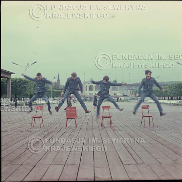 # 303 - Czerwone Gitary 1967r. sesja do płyty pt: 'Czerwone Gitary 3' , molo w Sopocie