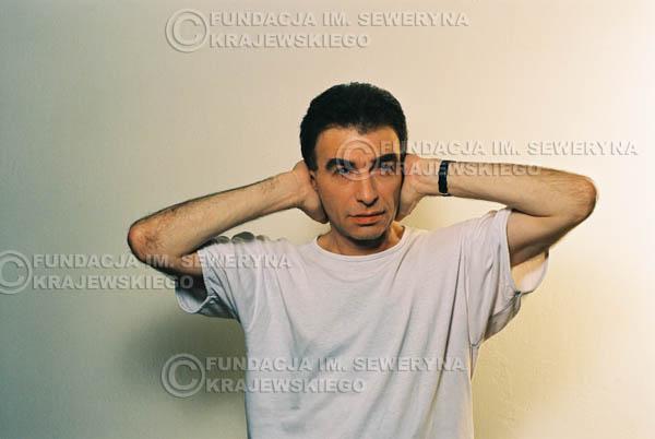 # 31 - Leszek Fidusiewicz. Sesja do okładki 'Strofki na gitarę (2)' - 1993 r.
