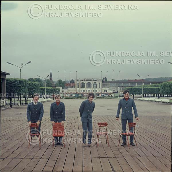 # 336 - Molo w Sopocie, Czerwone Gitary, sesja do płyty pt: 'Czerwone Gitary 3' 1967r