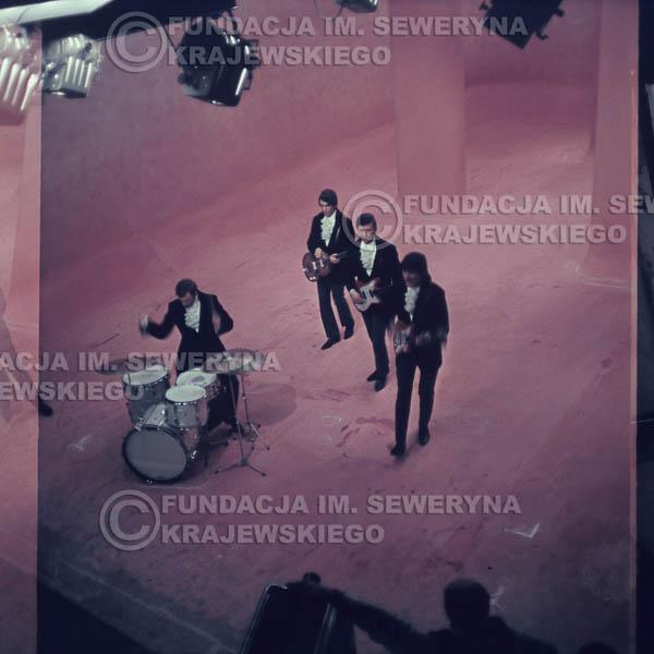 # 355 - Czerwone Gitary 1967r, telewizja w Warszawie, promocja trzeciej płyty