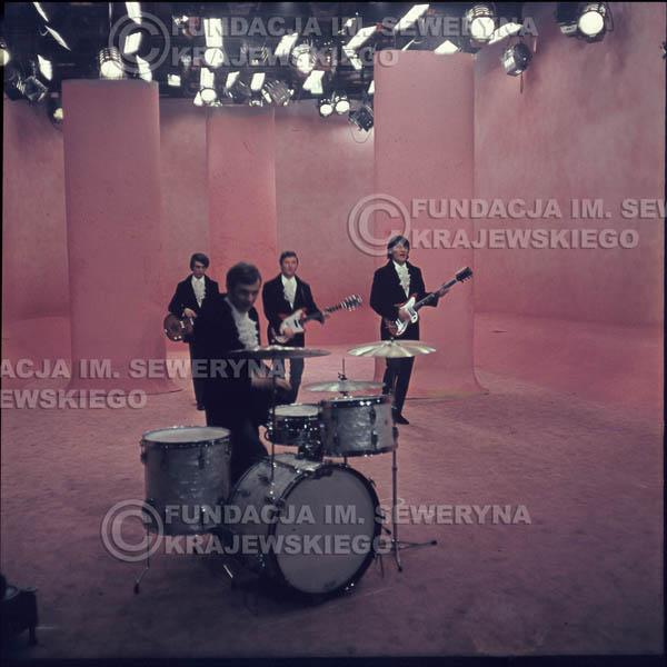 # 363 - Czerwone Gitary 1967r, telewizja w Warszawie, promocja trzeciej płyty